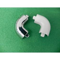 Corner of schower enclosure threshold bar Ideal Standard T2078AA
