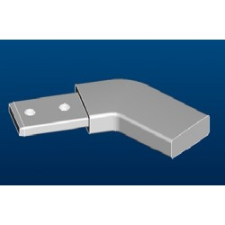Shower enclosure strut-45° angled exension - Ideal Standard