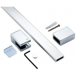 l Standard Synergy -Mounting arm straigth,max lenght 100cm,shiny silver L6229EO