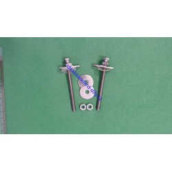 Fixing screws for Ideal Standard seat T654867