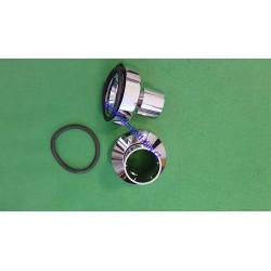 Ideal Standard B960575AA Set of adjustable rosettes,  Chrome