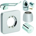 Battery covers, cartridge covers, thermostatic mixer controls and battery levers Ideal Standard, Jado